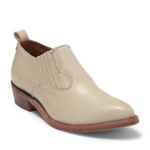 Frye - Billy Shootie Off White Leather Boot | 6.5